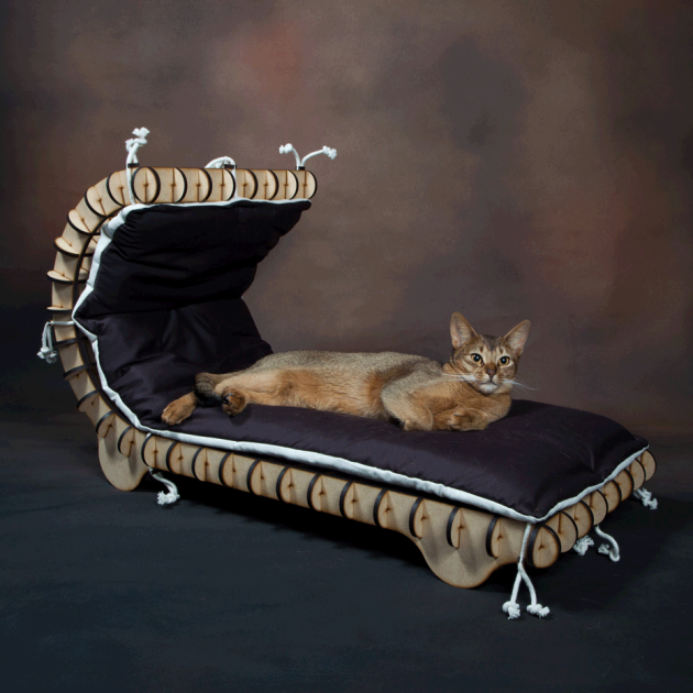 lit pour chat original accueil design et mobilier. Black Bedroom Furniture Sets. Home Design Ideas