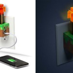 chargeur usb minecraft