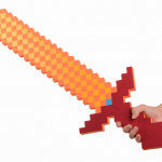epee mousse minecraft rouge