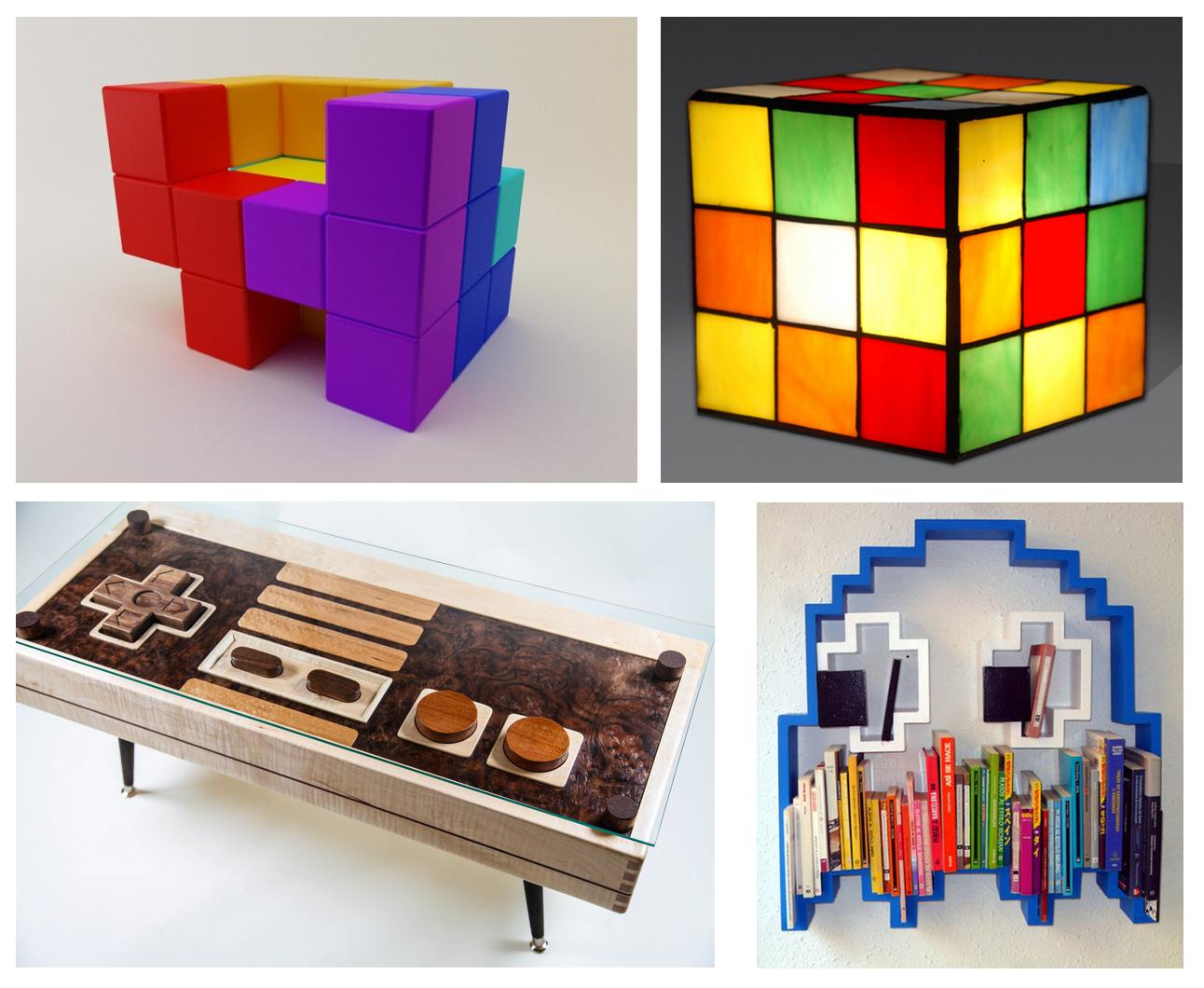 Des meubles geek pour d corer sa maison cuboak - Jeux de chambre een decorer ...