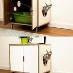 litière chat meuble