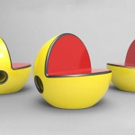 chaise pacman
