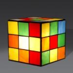 lampe rubiks cube