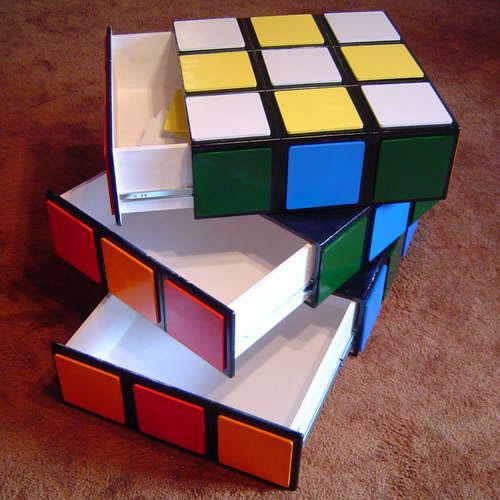 Des meubles geek pour d corer sa maison cuboak for Meuble cube