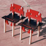 chaise space invaders