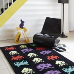 tapis space invaders