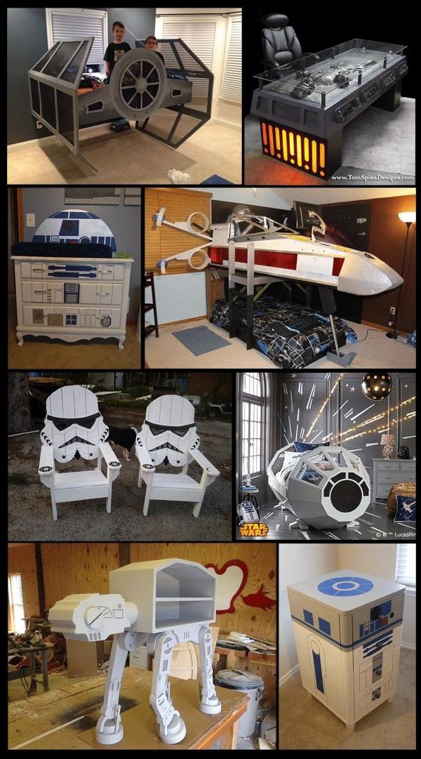 Des meubles geek pour décorer sa maison – Cuboak