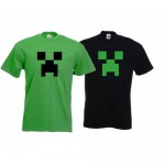 tee shirt minecraft creeper