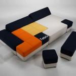 Canapé tetris
