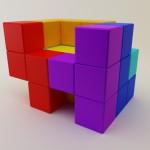 Chaise tetris