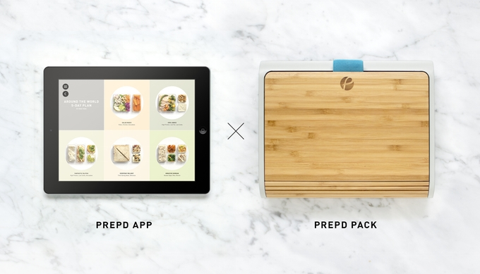 Prepd Pack lunch box. modulable
