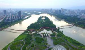 Yanweizhou Paysage parc chine