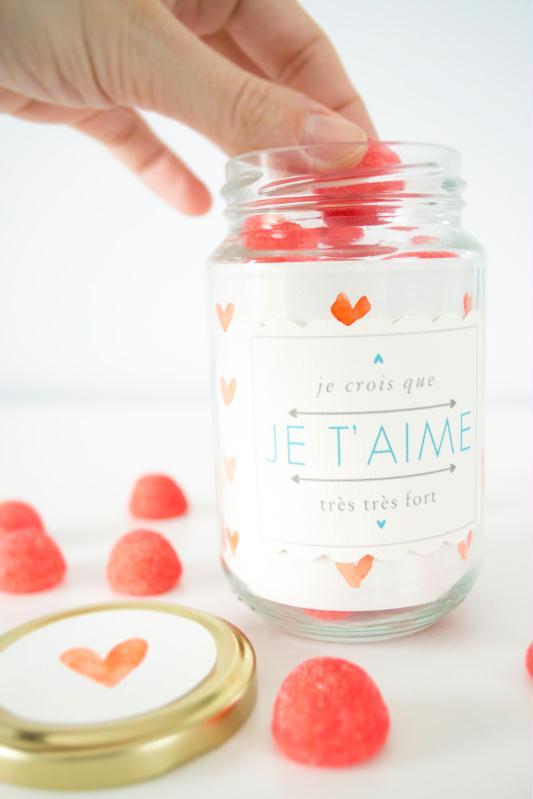 Le cadeau gourmand : la bonbonnière aux couleurs de la Saint-Valentin