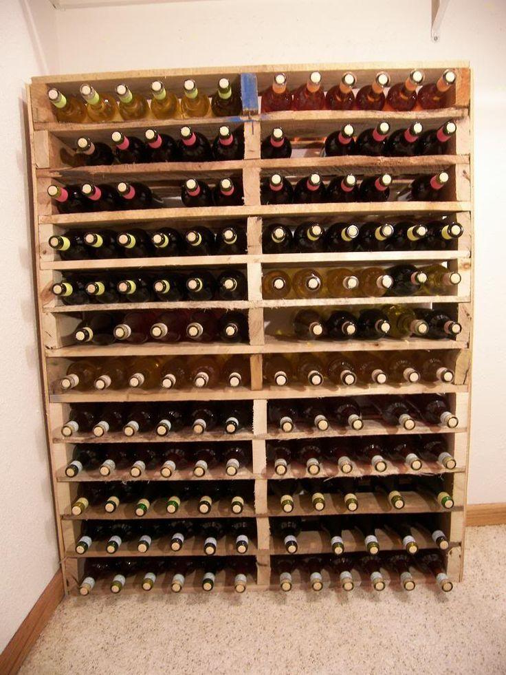 cave à vin palette