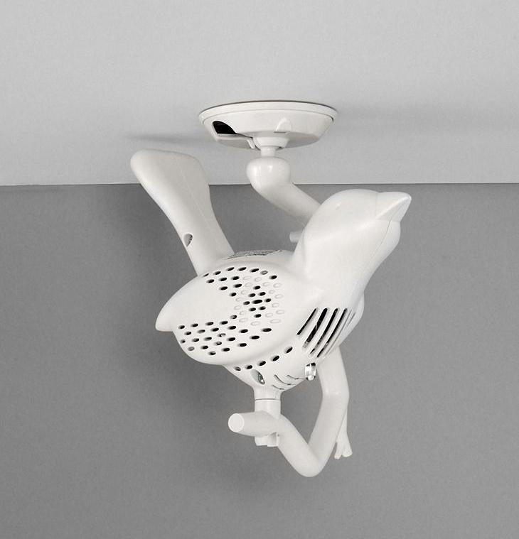 detecteur fumée design oiseaux