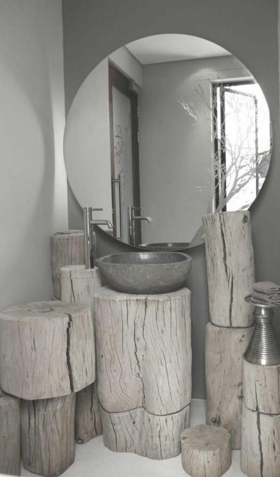 fabriquer meuble salle de bain en pierre 2