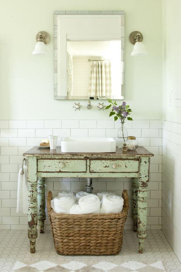 fabriquer meuble salle de bain tiroir blanc