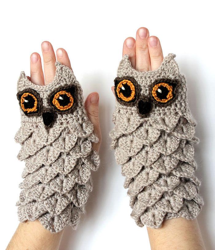 gants hibou