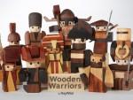 Wooden Warriors : Un jouet en bois artisanal et original