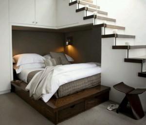 lit sous escalier 2