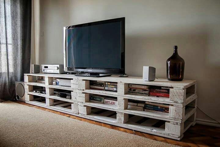 meuble tv en palette 2