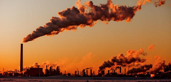 pollution air usine