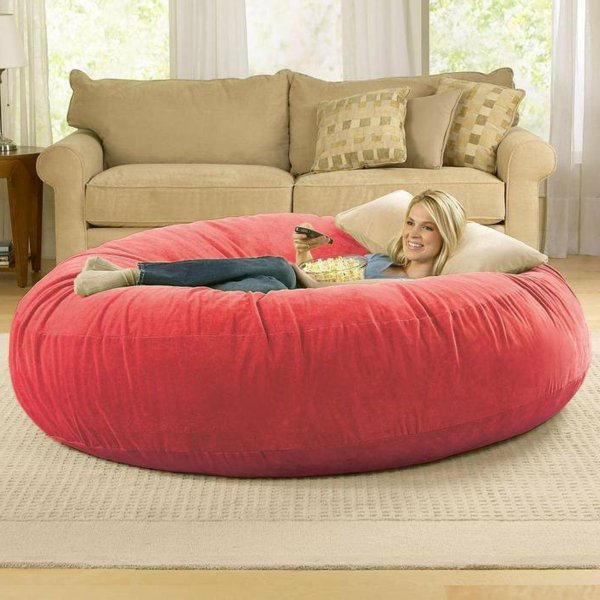 pouf geant rond 2