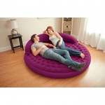 pouf glonflable intex violet