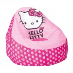 pouf hello kitty enfants