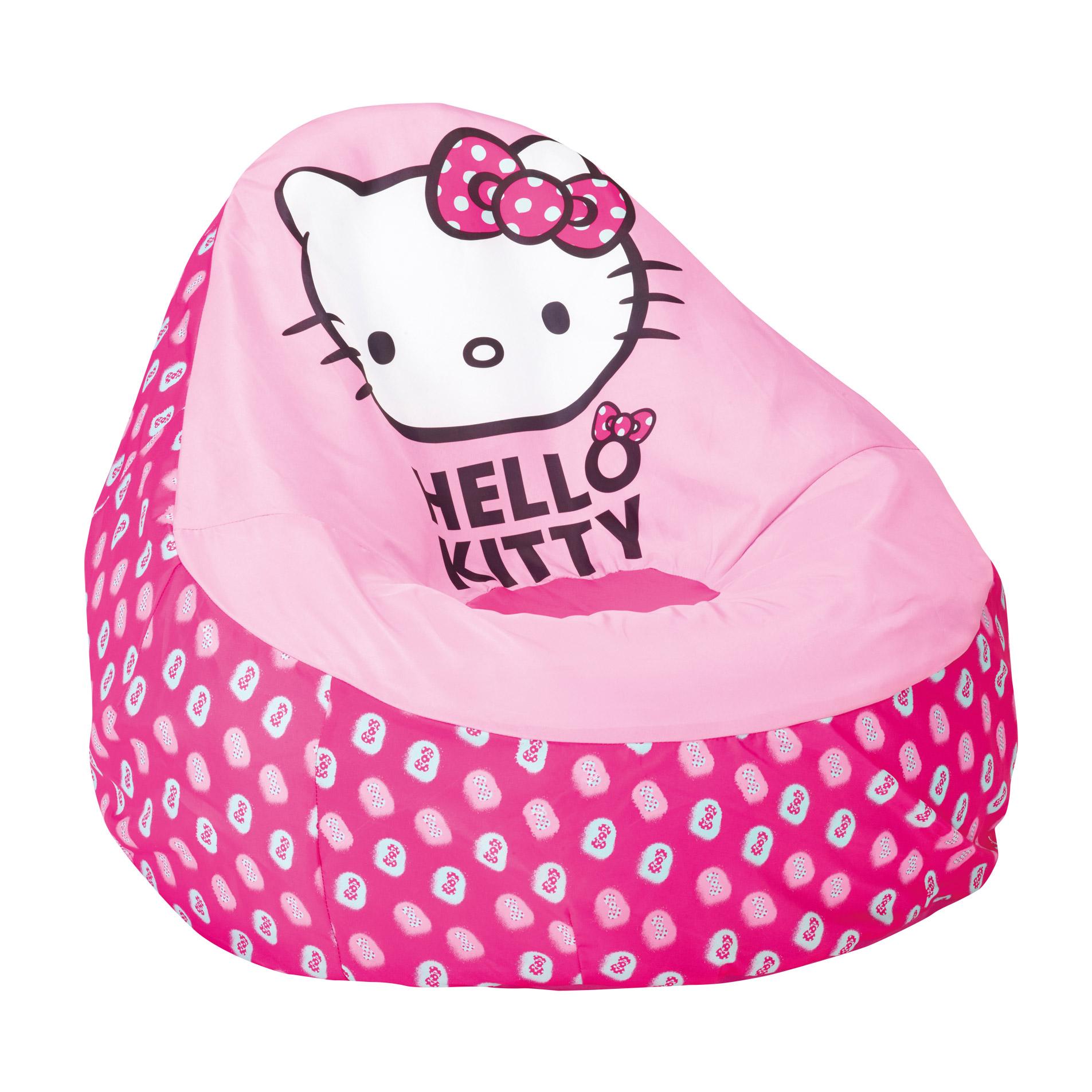 Pouf Hello Kitty Enfants