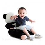 pouf panda enfant