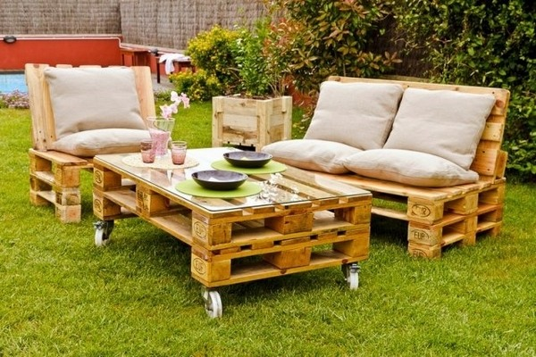 Canapé, chaise, banc… Un meuble en palette pour tous ! – Cuboak