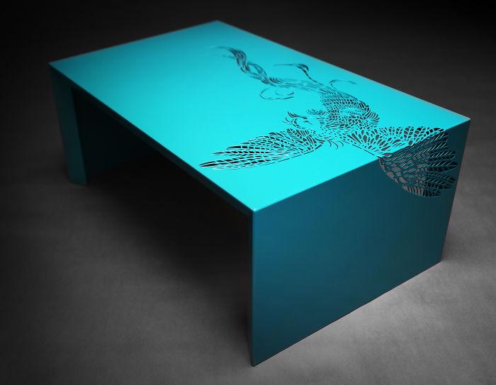 table oiseau