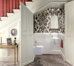 wc toilette sous escalier