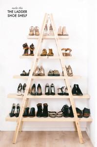 Dressing chaussures façon échelle