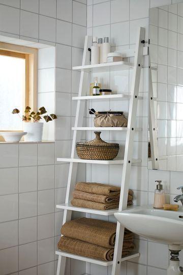Objet d co le d tournement d chelle cuboak - Rangement serviette salle de bain ...