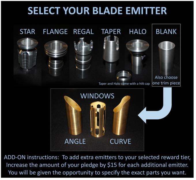 sabre laser artisanal personnalisable