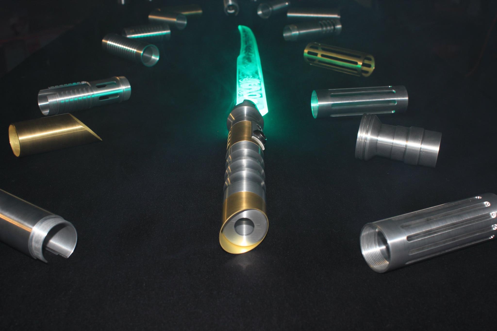 sabre laser cristal